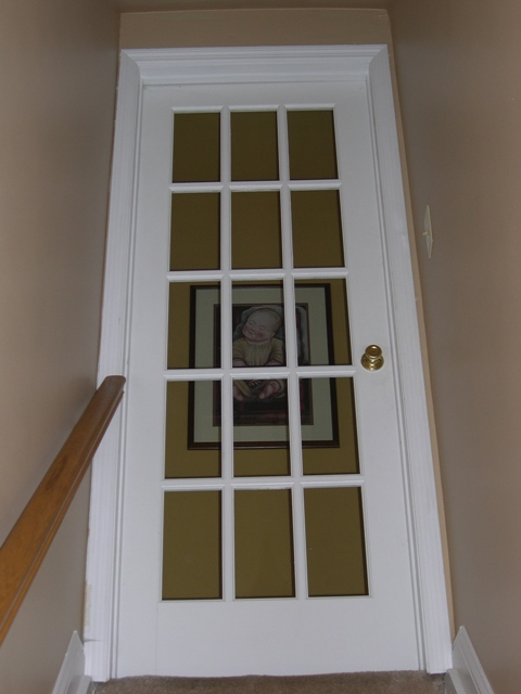 French door to basement cozy your home for Single door french doors